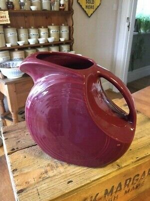 Vintage Fiestaware Large Claret Jug / Pitcher – Great Shape – USA! – • 24.99£
