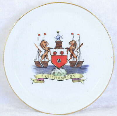 Gutteridge  Southhampton Pin Tray 4 Inches Across  Tourist Item Collectable  • 1.50£