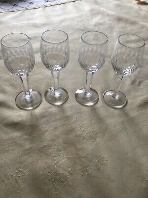 Four Royal Doulton Liqueur Glasses,Look Unused,Found In Storage. • 3.50£