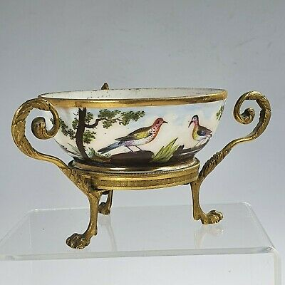 Fine Quality  Gilt Bronze Mounted Painted Cup C1830 • 5£