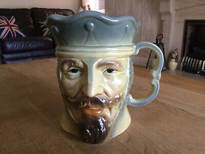 William 1st Kingston Pottery Character Toby Jug • 4.99£