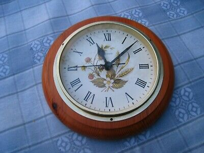 Marks And Spencer Harvest Wall Clock - Antique Pine • 10£