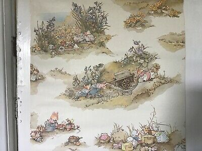 Two Part Rolls Of Geogeous Brambly Hedge Wallpaper Ideal Feature Wall / Nursery  • 15£