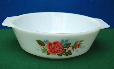 Round Casserole By Jaj Pyrex In The Cottage  Rose Design • 4£