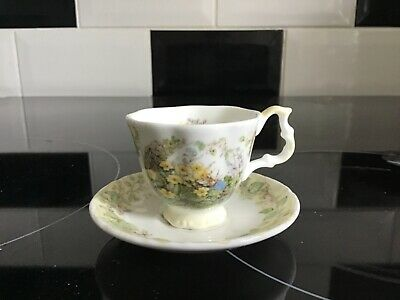 Royal Doulton Brambly Hedge Spring Miniature Tea Cup & Saucer  • 7.99£