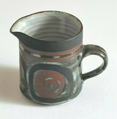 Vintage-Briglin-Milk Jug-Great Retro-'Look' And Appeal-Scroll Decoration • 10£