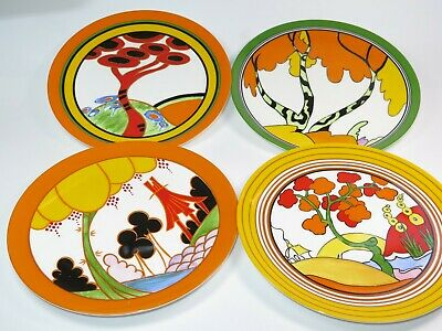 Limited Edition Wedgwood Plate LIVING LANDSCAPES Of CLARICE CLIFF Selection  • 17.99£