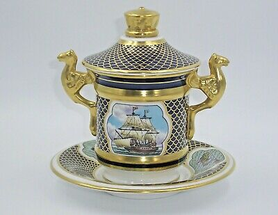 Limited Edition Spode Commemorative    Armada Cabinet Cup And Saucer     • 99£