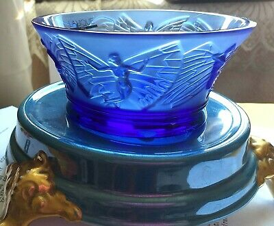 Lalique Votive Fairy Designed Bowl Clear Frosted Signed.stunning Colour~new • 325£