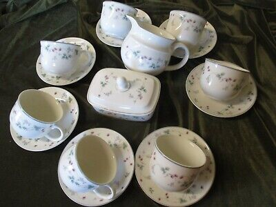 Lovely Selection Of Royal Doulton China Expressions Series Strawberry Fayre Desi • 5£
