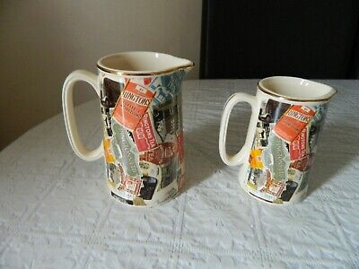 Two Vintage Ringtons Ceramic Jugs Made By Wade • 15.99£