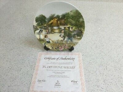 Collectors Item - ROYAL DOULTON  Old Country Crafts  - 'The Drystone Waller' • 12£