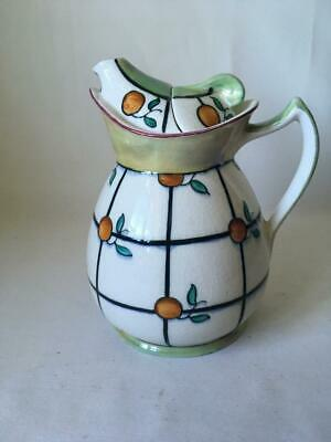 Wood & Sons Tubelined Pottery Cosy Teapot - Frederick Rhead • 29.99£