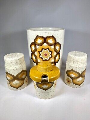 Vintage Palissy Table Set Floral The Royal Worcester Group 60's 70's • 20£