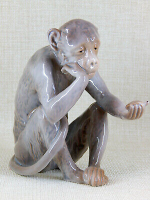 Bing And Grondahl Hard To Find Monkey Holding Turtle Figurine - Model 1510  • 213.34£