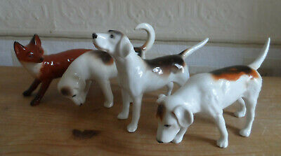 Beswick Fox And Foxhounds • 85£