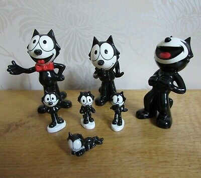 WADE Felix The Cat Various Figures X 7 • 49.99£