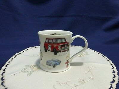 DUNOON Mug Classic Collection Cars By Richard Partis Fine Stoneware VGC • 14.99£