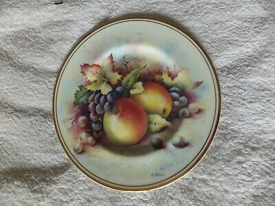 Fruit Plate By Fenton • 1£