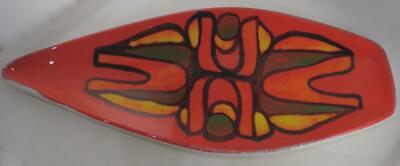 Poole Pottery Delphis Spear Dish Shape 82 Catherine Davey 1974-75 • 19.99£