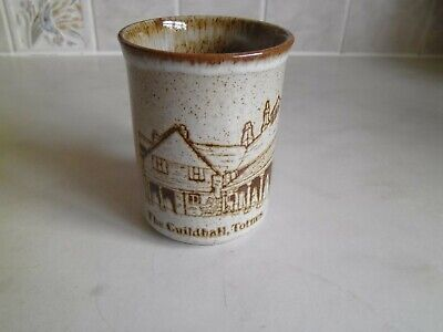 Dunoon Pottery Mug  The Guildhall, Totnes • 0.99£