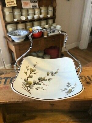 Vintage Midwinter Stylecraft – Spring Willow – Serving Dish With Shaped Handle • 9.99£