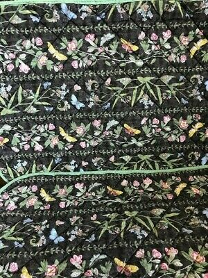 6 X Quilted Cloth Table Mats Portmeirion The Botanic Garden • 4.95£