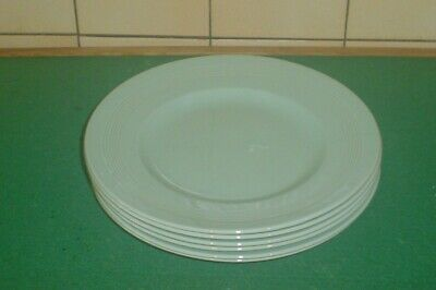 6 Woods Ware  Beryl   Green  Large Dinner Plates 10  • 35£