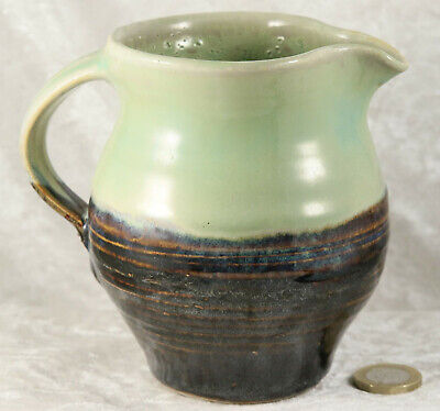 Studio Pottery Stoneware Jug 5 Inches Tall From Cornwall  Collectable  • 5£