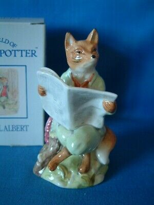 Beatrix Potter By Royal Albert ** Foxy Reading Country News ** • 18£