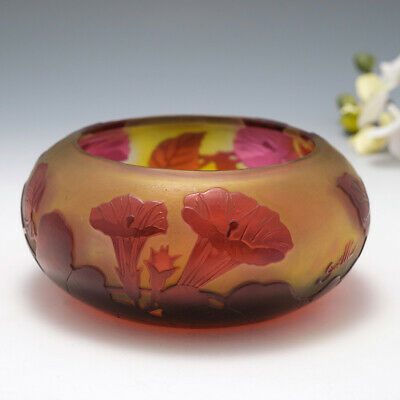 A Galle Cameo Glass Bowl C1920 • 865£