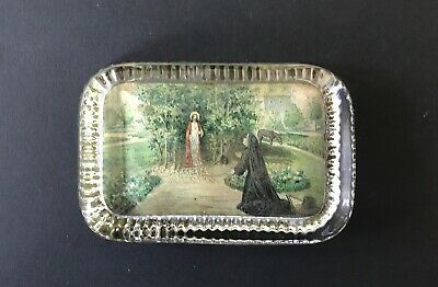 Vintage Paperweight Featuring Mary & Jesus  The Resurection  ? • 4.99£