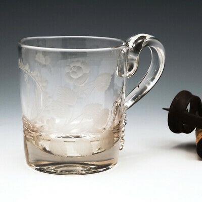 Union Engraved Georgian Tankard C1810 • 210£