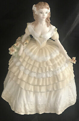 """Coalport Figurine """" Lily """" Limited Edition, Four Flowers Collection • 95£"""
