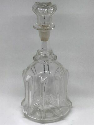 Large Vintage Stunning Antique Newcastle Blown Glass Decanter • 25£
