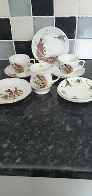 Selection Of China Featuring Game Birds / Pheasants • 6.99£