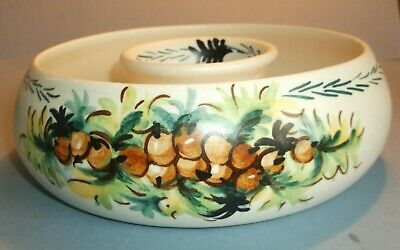 Axe Vale Round Hollow Centred Handpainted Dish- Beautiful Piece. • 25£