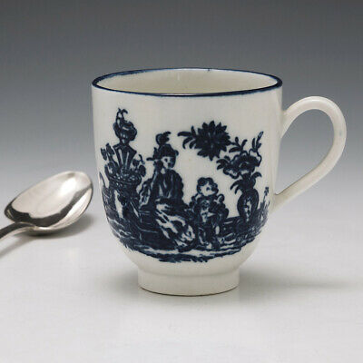Caughley Mother And Child Pattern Coffee Cup C1780 • 50£