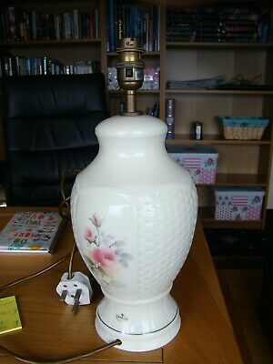 Beautiful Donegal Parian China Lamp Base Excellent Condition • 50£