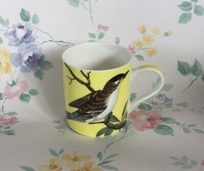 Queens Fine China Bird RHS Mug Floral • 11.99£