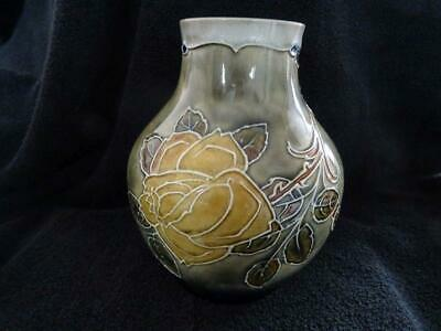 Fine Royal Doulton Leaf Decorated Vase By Bessie Newberry • 59.95£