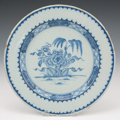 An English Delftware Plate C1750 • 78£