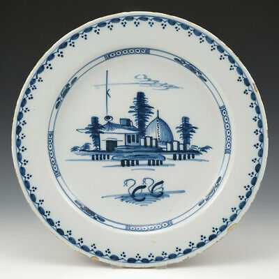 A Fine Large Liverpool Delftware Charger C1760 • 259£