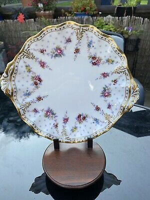 Roual Crown Derby Royal Antoinette XL Plate • 29£