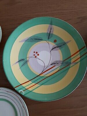 Clarice Cliff Plates Job Lot NO RESERVE  • 35£