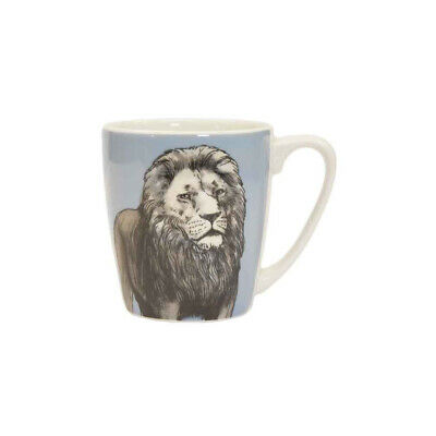 Queens Couture The Kingdom Lion Fine China 300ml Acorn Mug • 8.99£