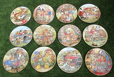 Royal Doulton -  Country Companions Plates -  **lovely Set Of 12**  • 45.99£