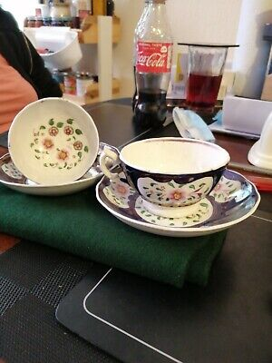Gaudy Welsh Cups/saucers • 14.99£