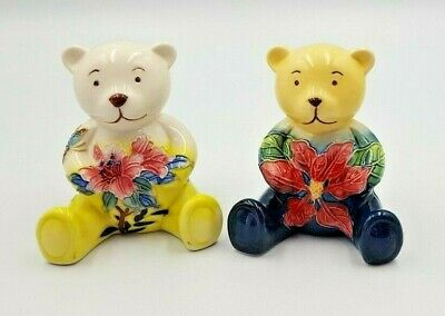 Old Tupton Ware Bear Teddy With Flowers TW6921 • 12.99£