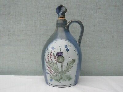 Vintage Buchan Stoneware Thistle Bottle/decanter • 40£